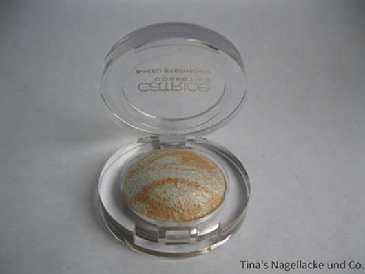 Catrice Baked Eyeshadow, Farbe: C03 The Winning Cream (Matchpoint LE)