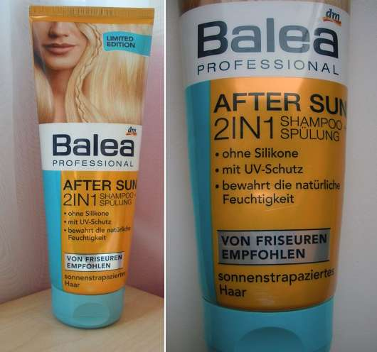 Balea Professional After Sun 2in1 Shampoo + Spülung (LE)