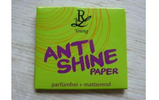 Rival de Loop Young Anti Shine Paper (parfümfrei + mattierend)