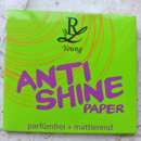 Rival de Loop Young Anti Shine Paper