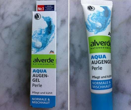 alverde Aqua Augen Gel Perle