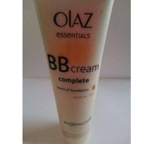 Test Getönte Creme Olaz Essentials Complete Bb Cream Touch Of