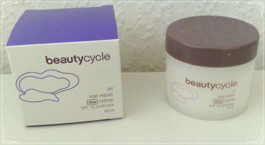 beautycycle air age repair day crème