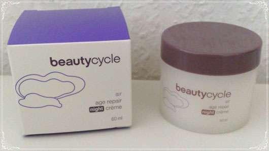 beautycycle air age repair night crème