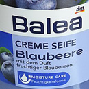 Balea Creme Seife Blaubeere (LE)