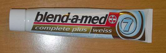 """blend-a-med complete plus """"weiss"""" Zahncreme"""