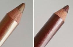 Produktbild zu alverde Naturkosmetik Duo-Kajal-Eyeliner – Farbe: 20 Golden-Brown