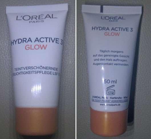 L'Oréal Paris Hydra Active 3 Glow Teintverschönernde Feuchtigkeitspflege LSF 15