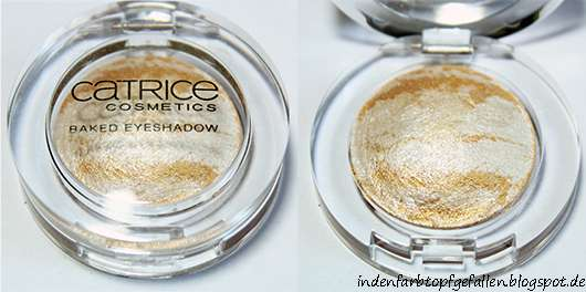 Catrice Baked Eyeshadow, Farbe: C01 Team Lucky Mustards (Matchpoint LE)