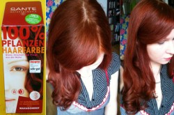 Produktbild zu SANTE Pflanzen-Haarfarbe – Farbe: Mahagonirot