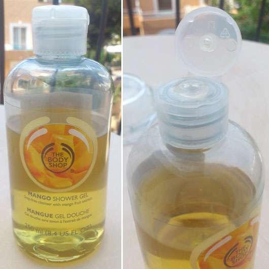 Test reinigung the body shop mango shower gel - The body shop mango shower gel ...