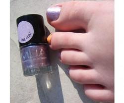 Produktbild zu MUA Makeup Academy Fairy Dust Glitter Nails – Farbe: Purple Mist