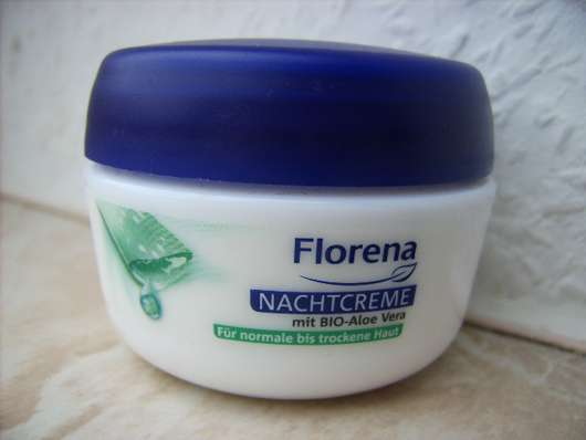 Florena Nachtcreme mit BIO-Aloe Vera