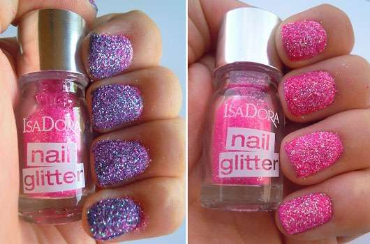 IsaDora Neon Glitter Nails, Farbe: 91 Pink Pop