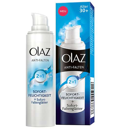 Olaz Anti-Falten 2in1 Sofort Feuchtigkeit + Sofort Faltenglätter