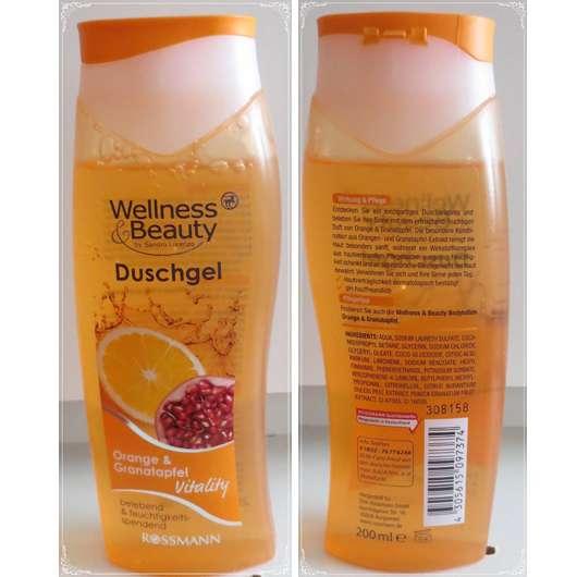 Wellness & Beauty Duschgel Orange & Granatapfel