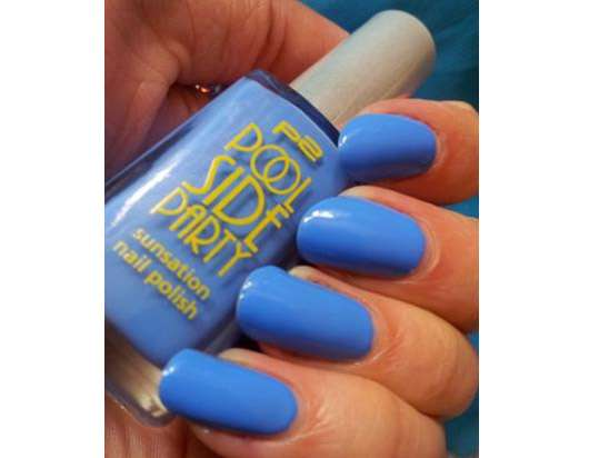 p2 poolside party sunsation nail polish, Farbe: 050 new wave (LE)
