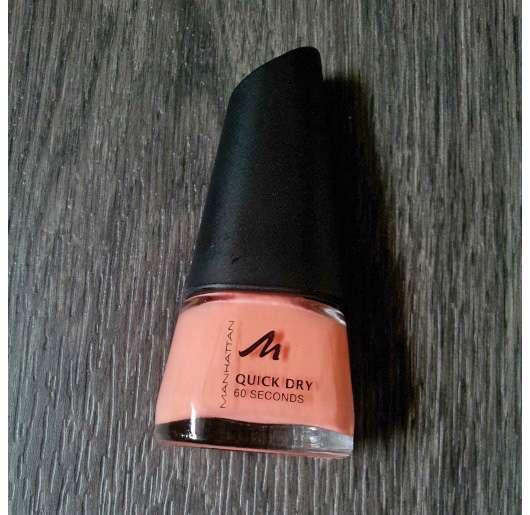 test nagellack manhattan quick dry 60 seconds nail polish farbe 25g testbericht von milkyway. Black Bedroom Furniture Sets. Home Design Ideas