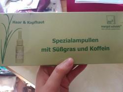 Produktbild zu Margot Schmitt Haar & Kopfhaut Spezialampullen Mit Süßgras