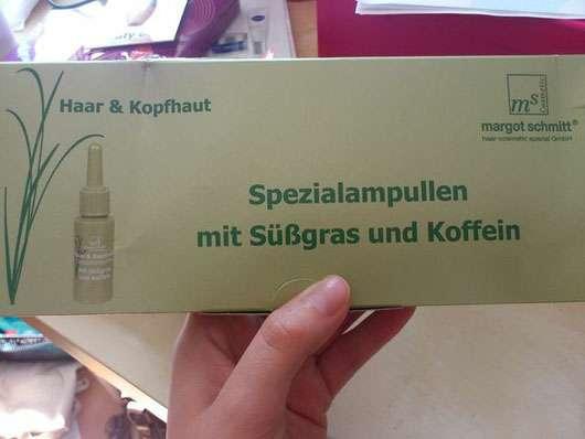 Margot Schmitt Haar & Kopfhaut Spezialampullen Mit Süßgras