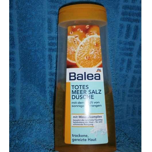 Balea Totes Meer Salz Dusche sonnige Orangen