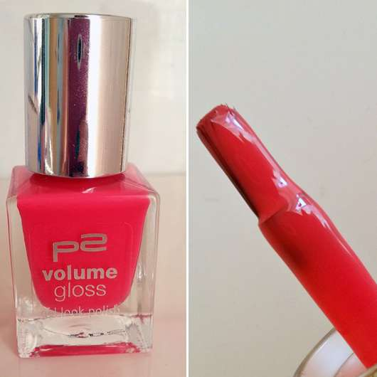p2 volume gloss gel look polish, Farbe 070 funky babe