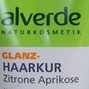 alverde Glanz-Haarkur Zitrone Aprikose