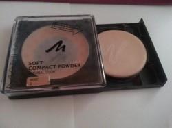 Produktbild zu MANHATTAN Soft Compact Powder Natural Look – Farbe: 3 Beige