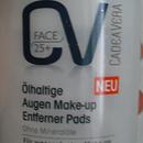 CadeaVera Face 25+ Ölhaltige Augen Make-up Entferner Pads