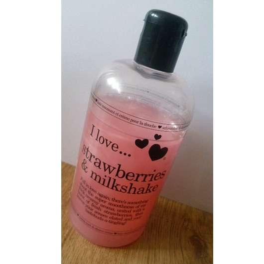 <strong>I love…</strong> Strawberry & Milkshake Bubble Bath & Shower Crème