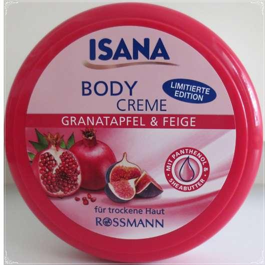 ISANA Body Creme Granatapfel & Feige (LE)