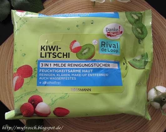 Rival de Loop Kiwi-Litschi 3in1 Milde Reinigungstücher (LE)