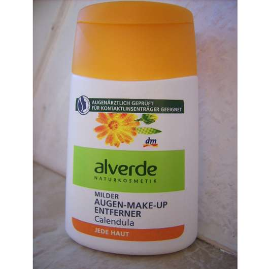 alverde Milder Augen-Make-up Entferner Calendula