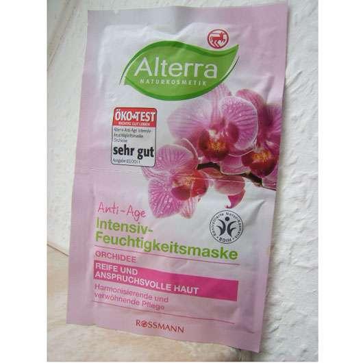Alterra Anti-Age Intensiv-Feuchtigkeitsmaske Orchidee
