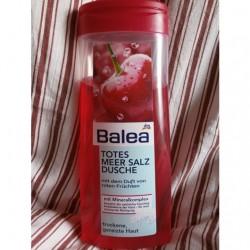 Produktbild zu Balea Totes Meer Salz Dusche rote Früchte