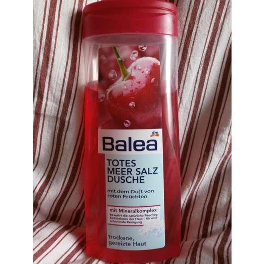 Balea Totes Meer Salz Dusche rote Früchte