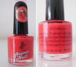 Produktbild zu Rival de Loop Young Aroma Nails – Farbe: 02 Erdbeere