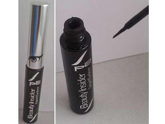 p2 beauty insider liquid eyeliner, Farbe: 010 blackest black