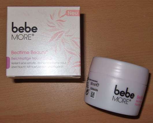 bebe More Bedtime Beauty – Reichhaltige Nachtcreme