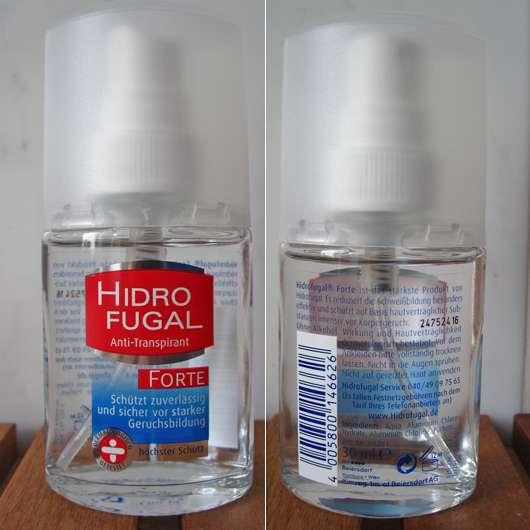 test deodorant hidro fugal anti transpirant forte testbericht von sisterventure. Black Bedroom Furniture Sets. Home Design Ideas