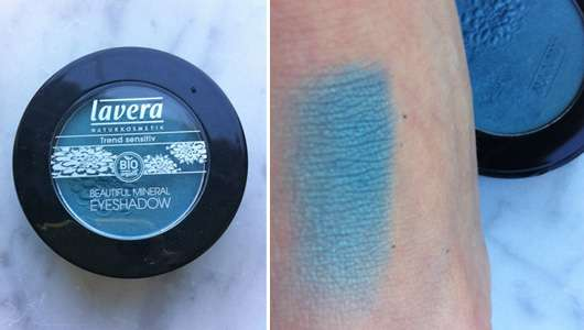 lavera Trend sensitiv Beautiful Mineral Eyeshadow, Farbe: 10 Laguna Blue (LE)