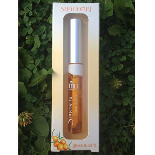 CMD Naturkosmetik Sandorini Gloss & Care Lipgloss shiny