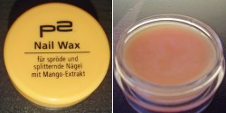 Produktbild zu p2 cosmetics Nail Wax mit Mango-Extrakt