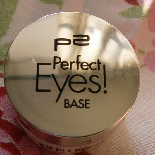 p2 cosmetics perfect eyes! base (Tiegel)