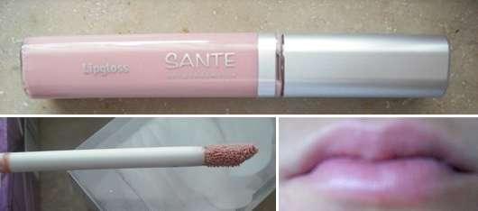 SANTE Lipgloss, Farbe: 2 Nude Silk