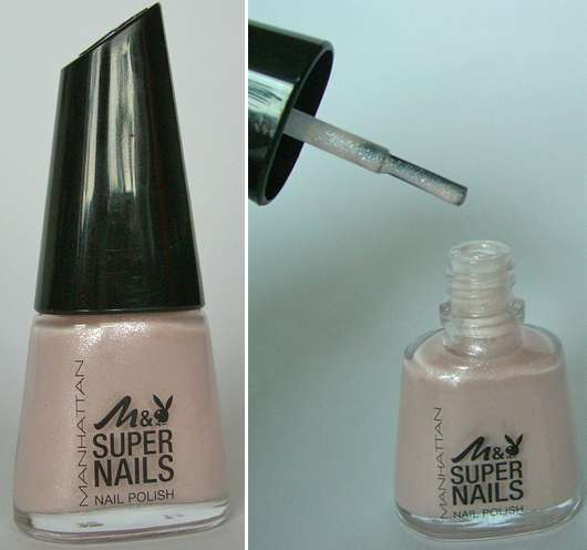 Manhattan Super Nails Nail Polish, Farbe: 01 Fligh High (LE)