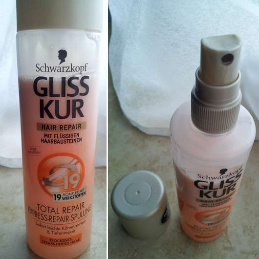 Schwarzkopf Gliss Kur Hair Repair Total Repair Express-Repair-Spülung