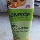 alverde 3 in 1 Fußschutzcreme Orange Rosmarin