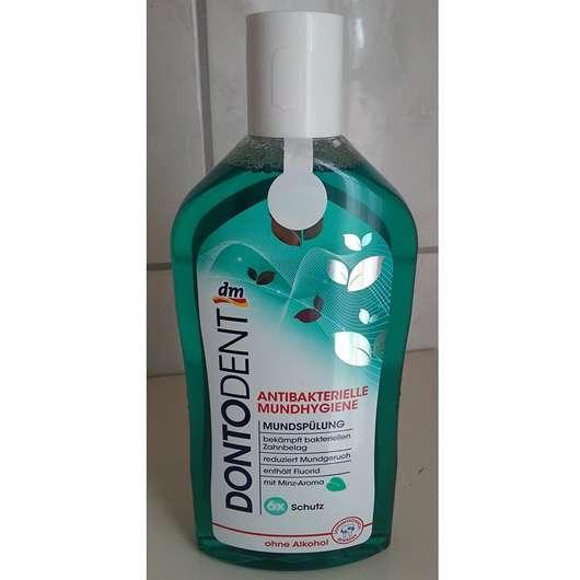 DontoDent Antibakterielle Mundhygiene Mundspülung 6x Schutz