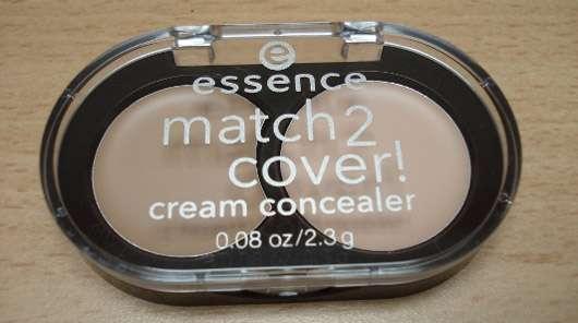 essence match2cover! cream concealer